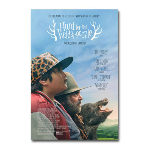 Hunt for the Wilderpeople Movie Art Silk Canvas Film Poster Print 24x36 inch
