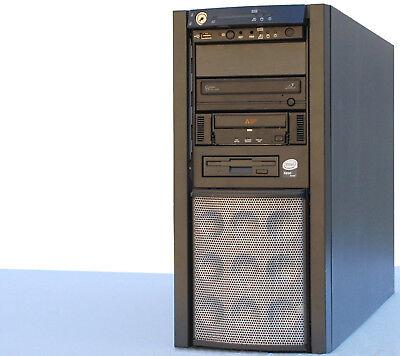 Computers/tablets & Networking Honest Intel Xeon Quad Core 64bit Fsc Primergy Server Raid Sata Longtimeuse Mm