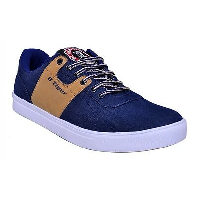 Black Tiger Mens Casual Shoes 8082-Blue
