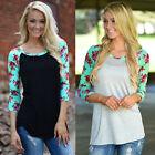 Women Ladies Hoodie Jumper Sweatshirt Tops Sweater Pullover Outerwear Coat Print