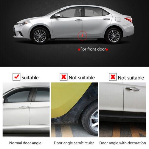 2Pcs Car Door Corner Cover Silicone Anti-Scratch Crash Protection Protector