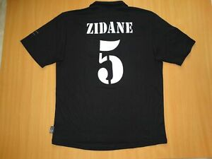c0606c64e5b REAL MADRID  5 ZIDANE Centenary 2001 2002 MAILLOT shirt JERSEY AWAY ...
