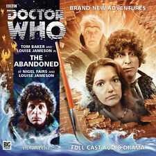 DOCTOR WHO Big Finish Audio CD Tom Baker 4th Doctor #3.7 THE ABANDONED
