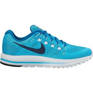 ab495d3aaf7 Mens NIKE AIR ZOOM VOMERO 12 Chlorine Blue Running Trainers 863762 ...