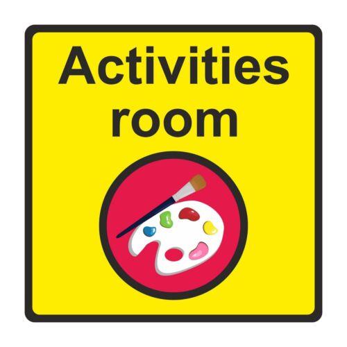 Dementia Friendly Activities Room Sign