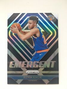 2018-19-Panini-Prizm-Kevin-Knox-Rookie-RC-Silver-Prizm-Refractor-Emergent-SP