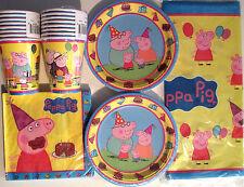 PEPPA PIG - Birthday Party Supply Supply Kit Set 16 w/ Balloons