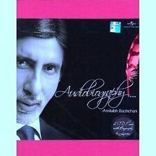 AUDIOBIOGRAPHY - ( AMITABH BACHCHAN) - NEW BOLLYWOOD - 2 CDS Set - FREE UK POST