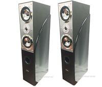 Pair Digital Audio 10 1400 Watts Home Theater Tower Oak Speakers