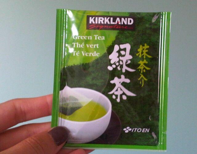 100 Kirkland Signature Ito En Matcha Blend Green Tea Bags Anese Leaves