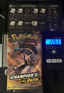 Pokemon Champions Path Sealed Booster Pack - Heavy? - Charizard? ???  22.63g