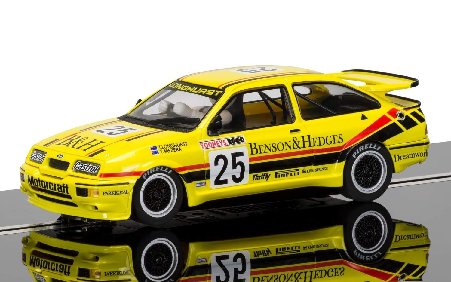 Scalextric C3868 Ford Sierra RS500, Bathhurst 1988, boxed unused