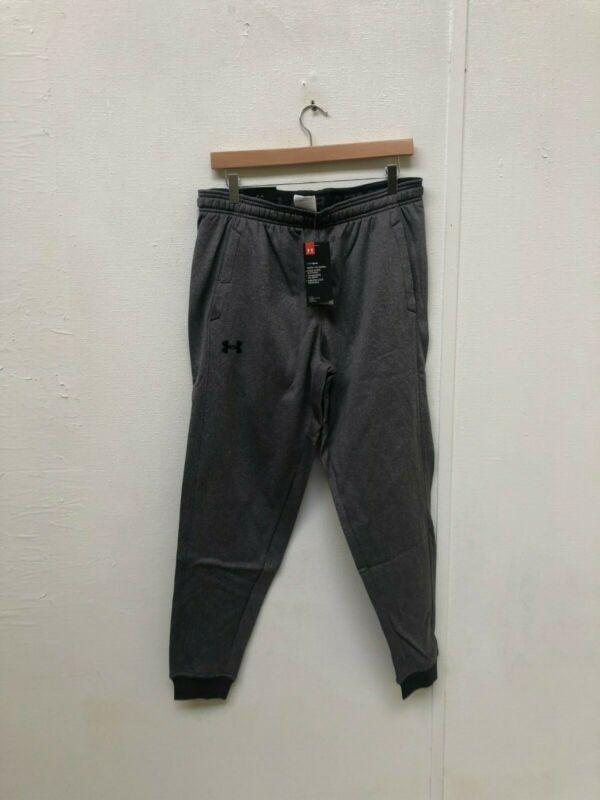 Under Armour Ua Da Uomo In Pile Cold Gear Aderente Pantaloni Sportivi-large-grigio-nuovo