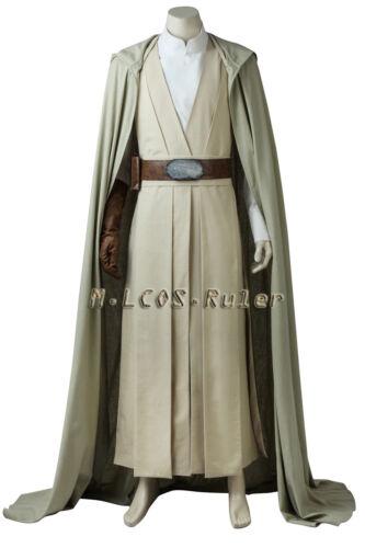 New Film Star Wars 8:The Last Jedi Luke skywalker Cosplay Costume Carnival Suit