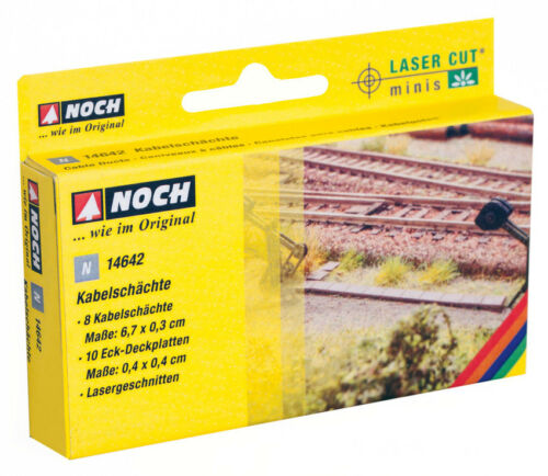 """/""""Kabelschächte/"""" NEU in OVP NOCH 14642 N 1:160 Laser-Cut mini"""