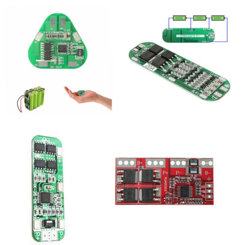 4//5//20//30A 3S Li-ion Lithium Battery 18650 Charger PCB BMS Board Cell ATF