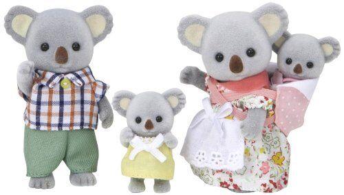 Sylvanian Families dolls Koala family FS-15