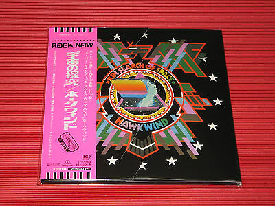 2015 HAWKWIND In Search Of Space with bonus track  JAPAN MINI LP HQ CD