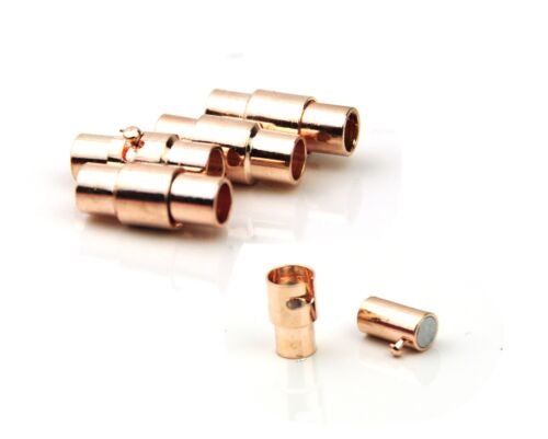 Rose Gold Interlock Clasp 4mm