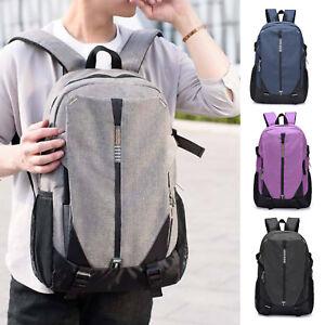 Mens-Womens-Canva-Backpack-Rucksack-School-College-Sports-Laptop-Splice-Work-Bag