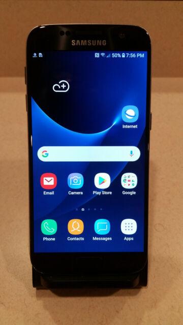 Sprint Samsung Galaxy S7 Sm G930p 32gb Black Bad Imei For Sale Online Ebay