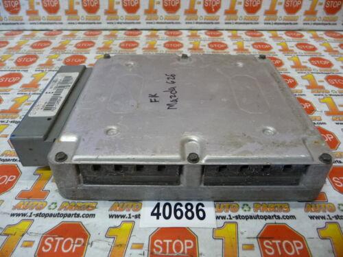 96 MAZDA 626 4CYL AUTOMATIC ENGINE COMPUTER ECU ECM FSB9-18881-F OEM