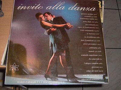 """LP 12"""" MARIO CAPALDI E LA SUA FISARMONICA INVITO ALLA DANZA EX+/EX NIAGARA N 29"""