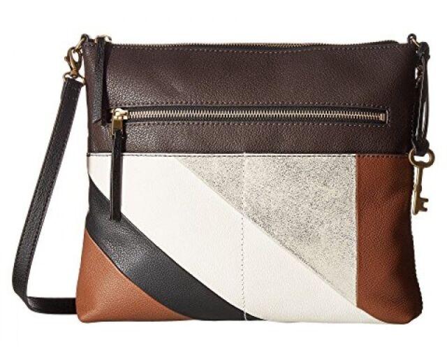 Fossil Women S Crossbody Bag Fiona Stripe