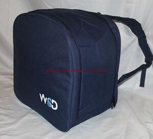 Ski snowboard boots backpack boot bag Blue Free ship USA WSD New