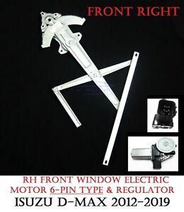 RH-Front-Electric-Window-Regulator-amp-Motor-Fits-Isuzu-Dmax-D-Max-2012-Onwards