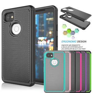 low priced 1d88b 9006a Details about Shockproof Hybrid Rubber Hard Protective Case For Google  Pixel 2 / Pixel 2 XL
