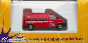 VW-Bus-T5-Modell-Rietze-1-87-H0-DGB-Mindestlohn-NEU-amp-OVP