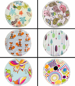 Cloth-Breast-Pads-Washable-Reuseable-Eco-Bamboo-Nursing-Pads-Waterproof-Prints