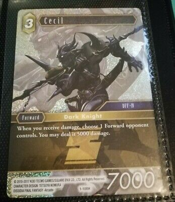 CECIL   FOIL  PROMO 1//108H   FINAL FANTASY CARD GAME