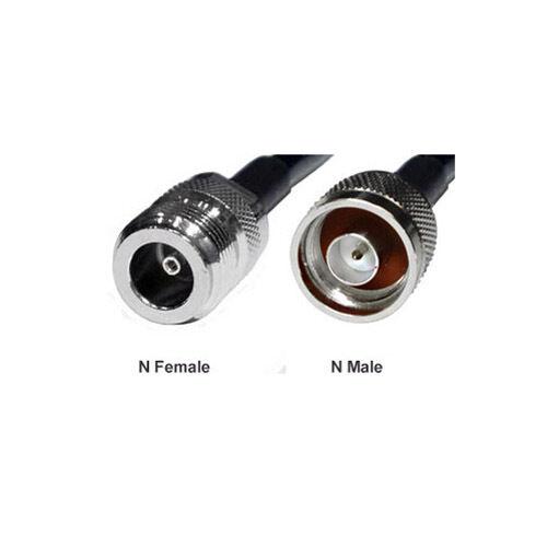 Low Loss N Male to N Femal RG58U Coaxial Cable 9.8ft 3-Meter