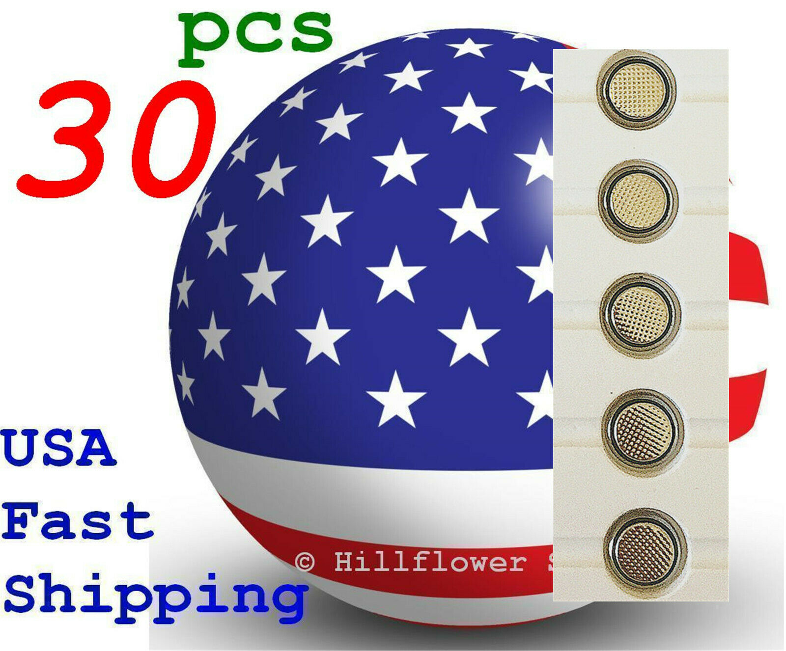 30 pcs CR1025 1025 LM1025 BR1025 Bulk 3V High Quality Lithium Battery