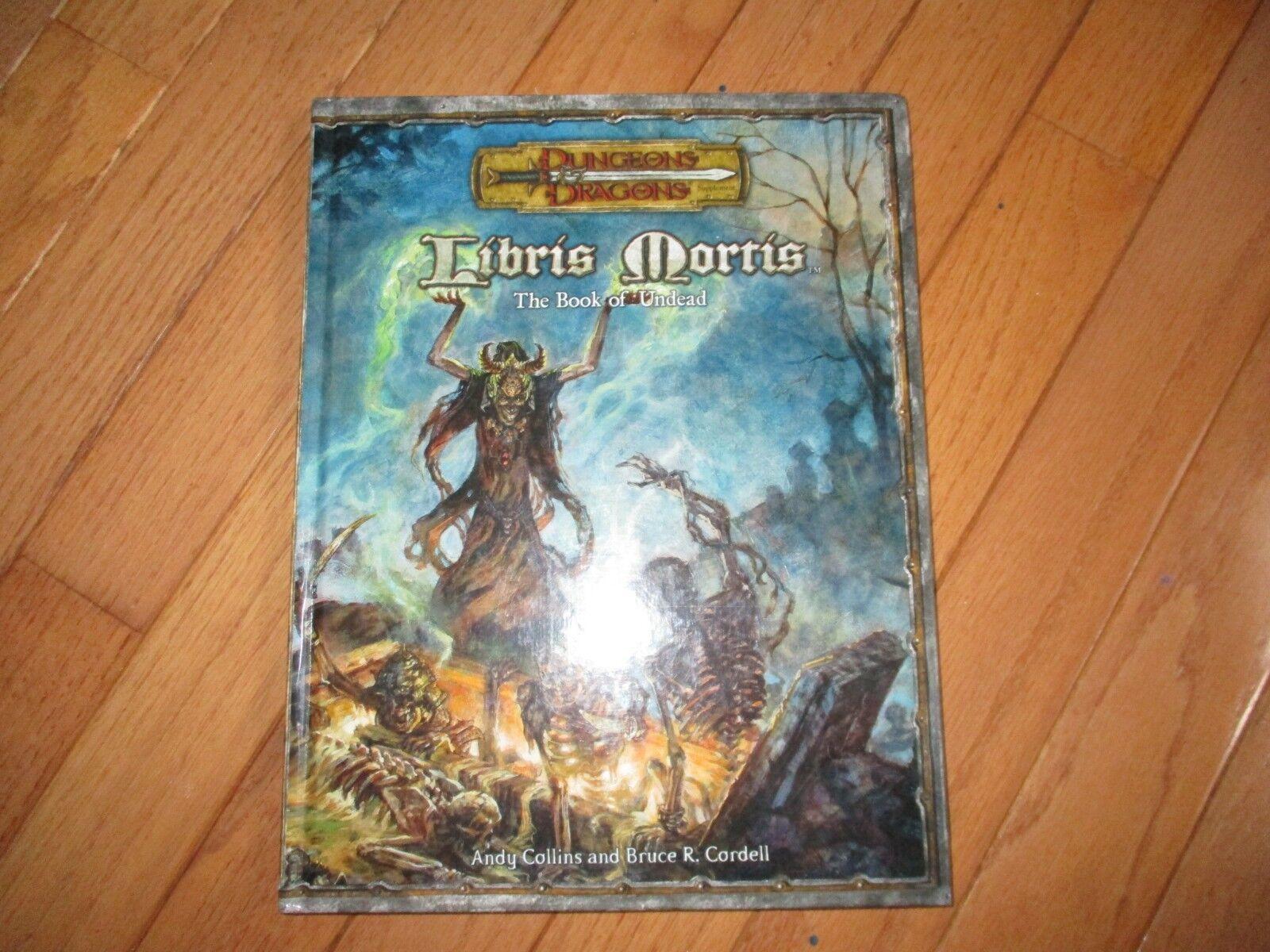D&D D20 WOTC Libris Mortis The Book of Undead