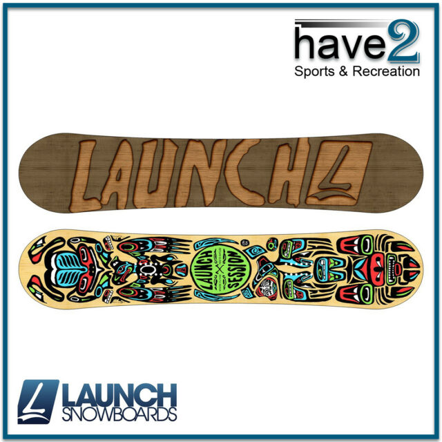 218dc3a6a4c LAUNCH Session Snowboard Park Camber Profile 153cm for sale online ...