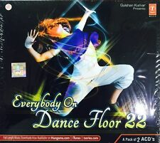 EVERYBODY ON DANCE FLOOR 22 -  2 CD BOLLYWOOD REMIX SET - FREE POST