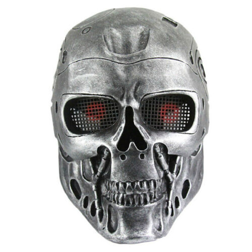 Moive Theme The Terminator Mask Full Face Mask Paintball Wargame Tactical Mask
