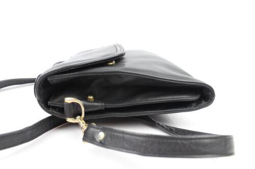 Tres Amovible Sac Cuir Bon Etat Bandoulière Vintage Noir DeIW2EH9Y