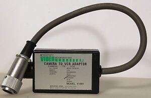 Recoton Video Accessories Camera to VCR Model V-491