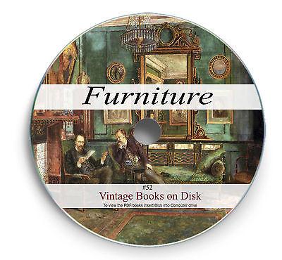 Rare Books On Dvd Furniture Making