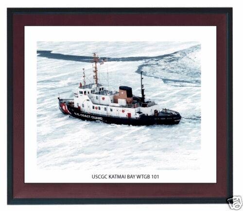 USCGC KATMAI BAY WTGB 101  ---USCG, United States Coast Guard Ship Photo Drucken