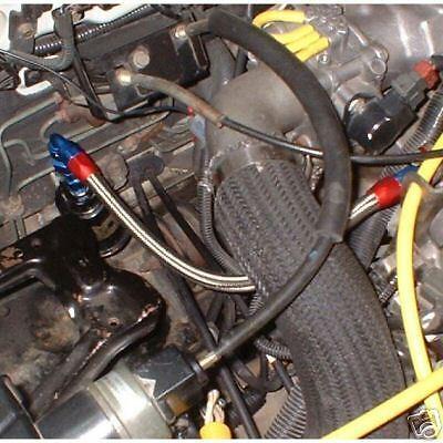 DSM inlet Fuel Filter Rail feed Kit FPR Eclipse Talon