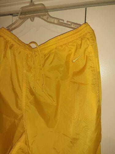 Vtg Nike Yellow/butta/Windbreaker Pants