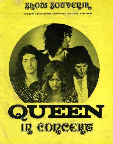 0606 Vintage Music Poster Art  Queen In Concert