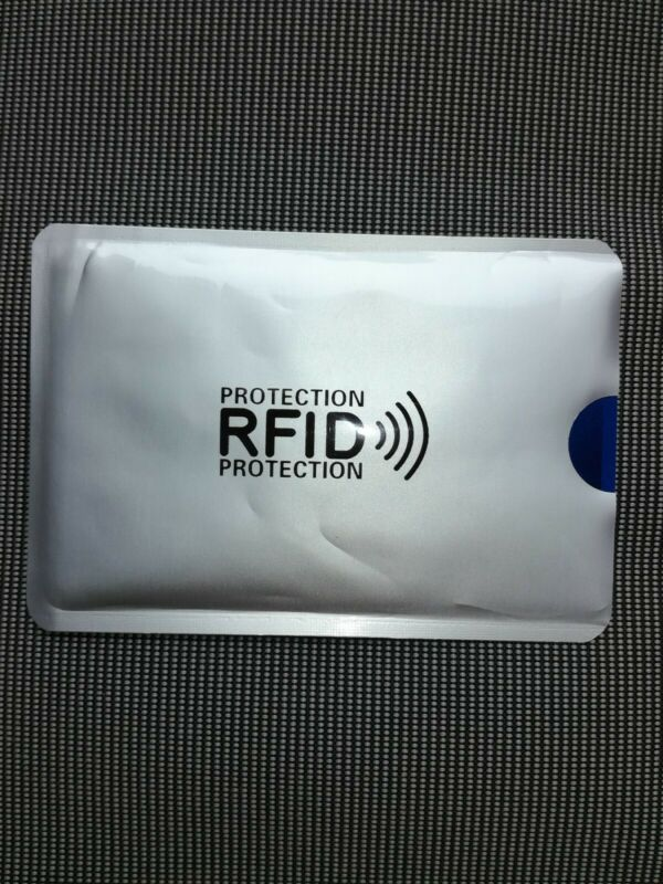 2 X Rfid Blocker Schutzhülle Nfc Schutz Shield Card Ec Karte Kreditkarte
