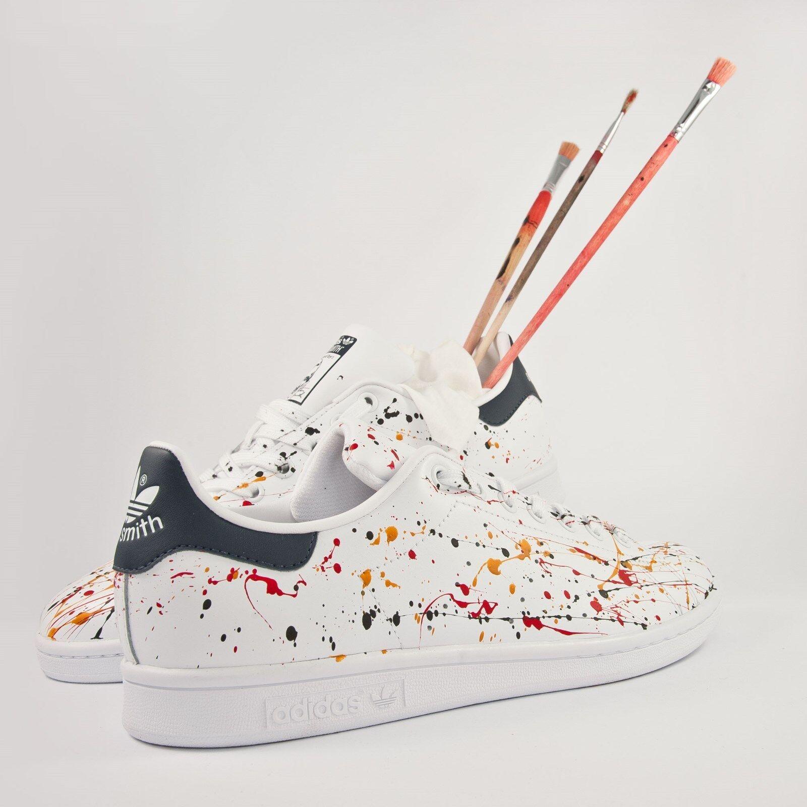 scarpe adidas colorata stan smith con spruzzatura colorata adidas 1b94b9