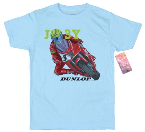 Joey Dunlop T shirt Artwork